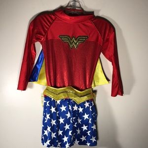 Wonder Woman costume girls size 8-10